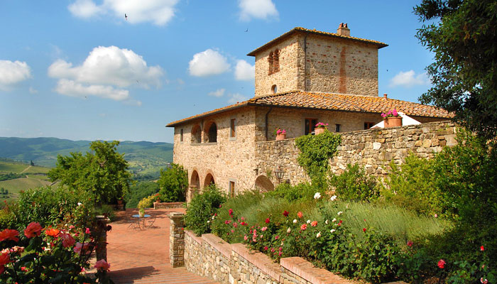 Conca d'Oro Estate in Tuscany
