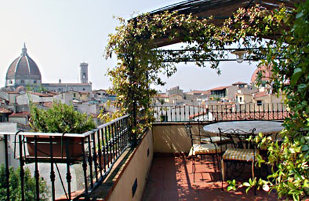 Terrace G. in Florence