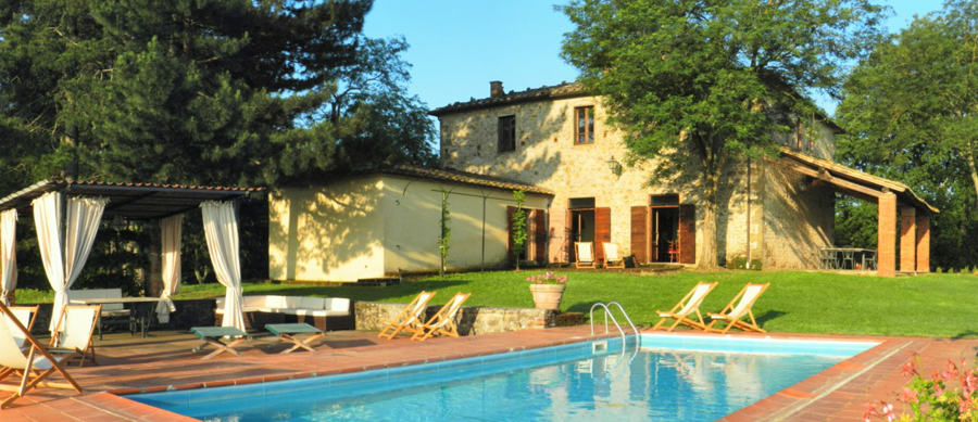 Villa Ambrasette in Tuscany