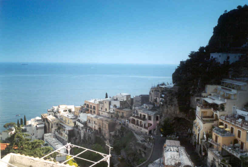 Fornillo Positano in Southern Italy